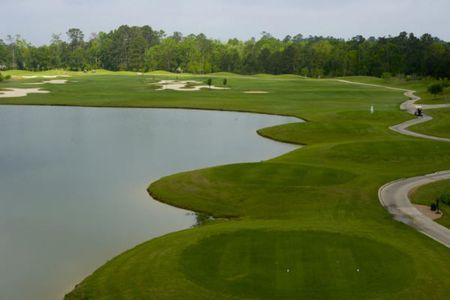 Overview of golf course named Coushatta Country Club