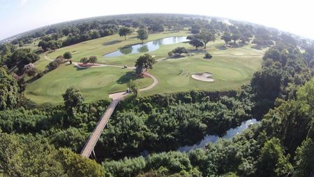 Overview of golf course named East Ridge Country Club