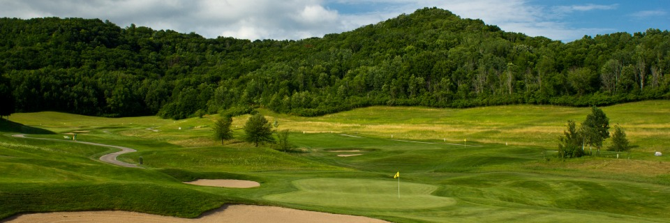 Overview of golf course named La Crosse Country Club