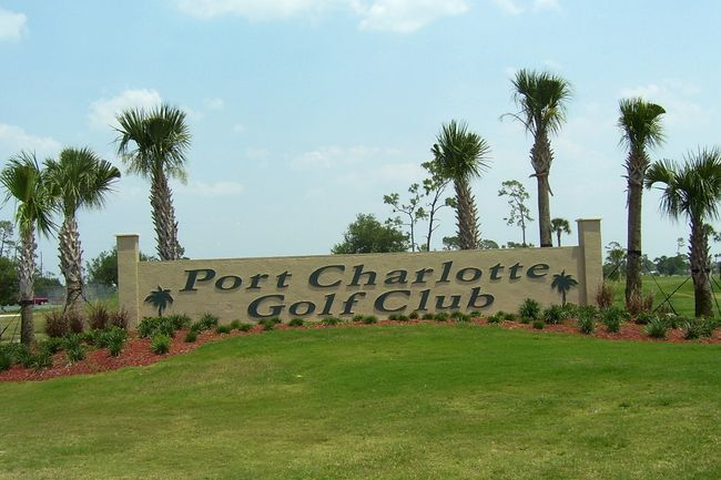 Overview of golf course named Port Charlotte Golf Club