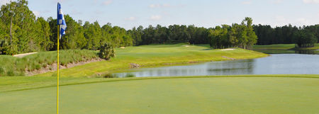 Overview of golf course named Cedar Hammock Golf and Country Club