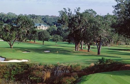 Overview of golf course named Brooksville Country Club