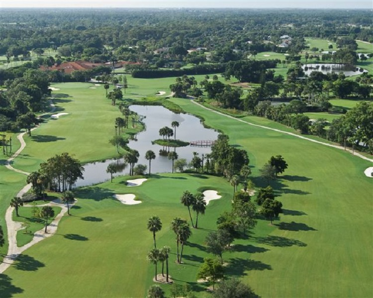 Overview of golf course named Country Club of Naples