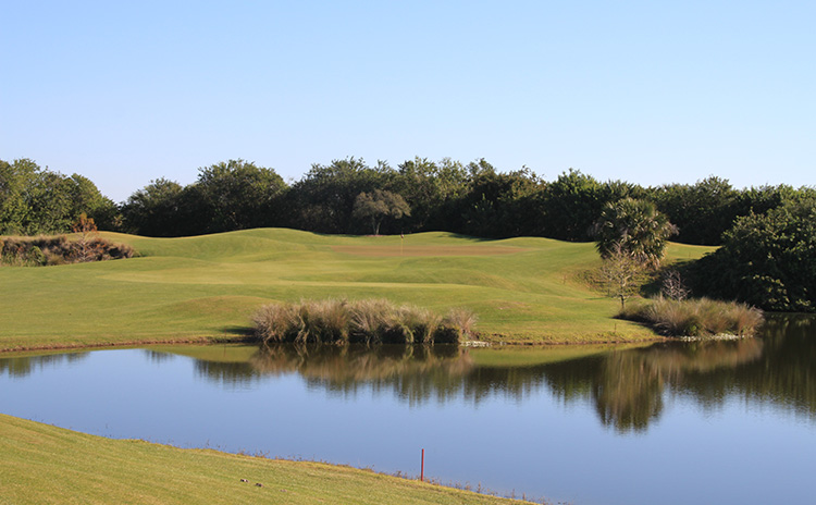 Overview of golf course named Sandridge Golf Club