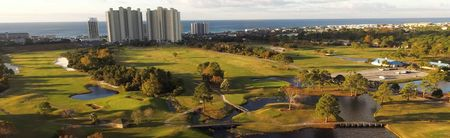 Overview of golf course named Seascape Resort
