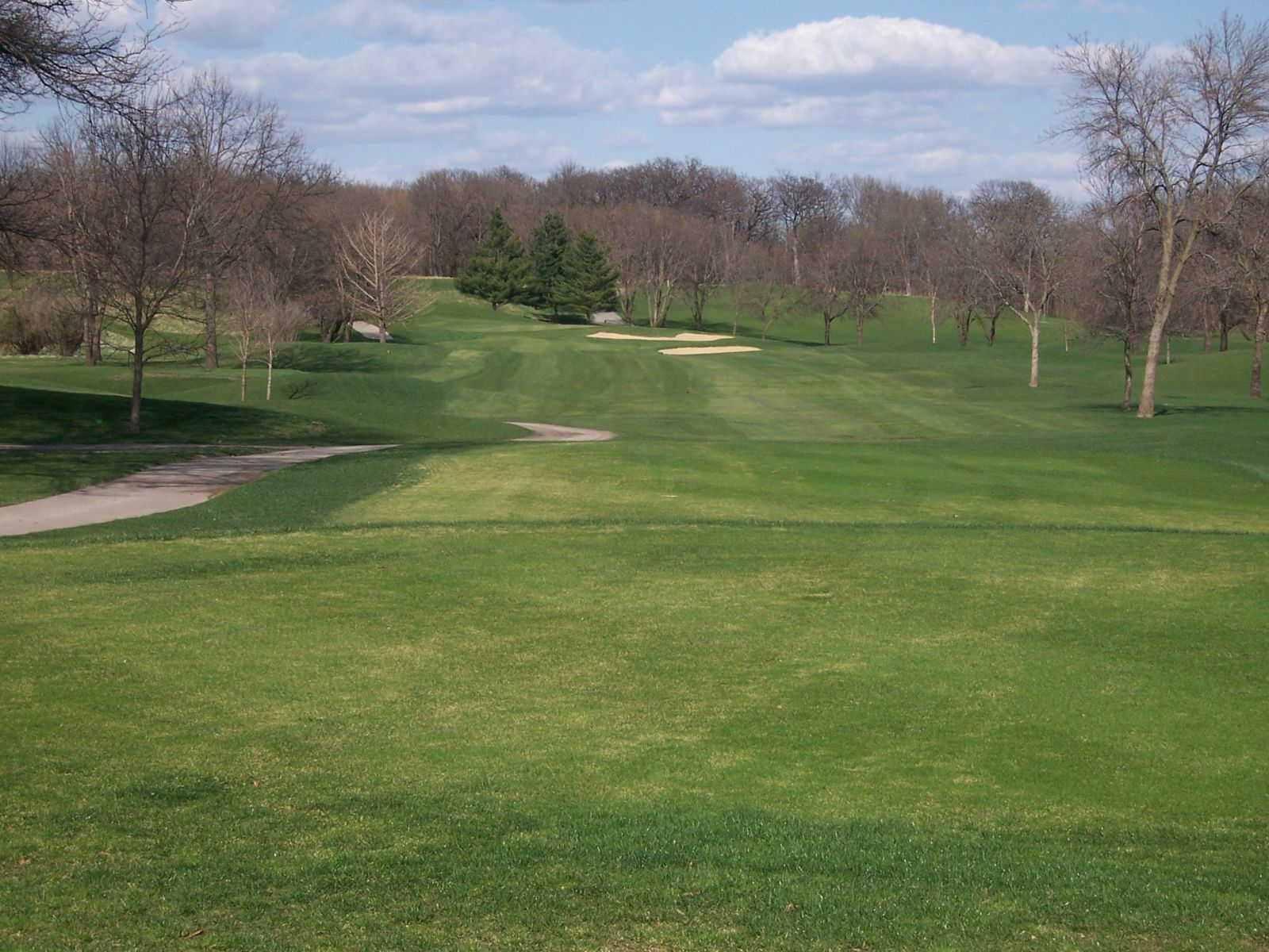 Overview of golf course named K Golf Course