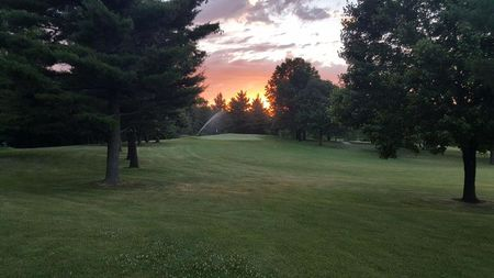 Overview of golf course named Kalona Golf Club