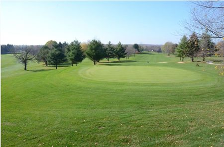 Overview of golf course named Lake Macbride Golf Course