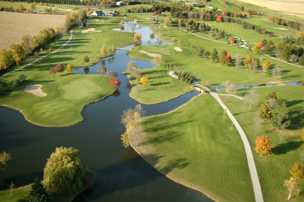 Overview of golf course named Pleasant Valley Golf Club