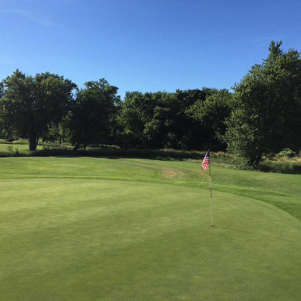 Overview of golf course named Ridgestone Golf Club