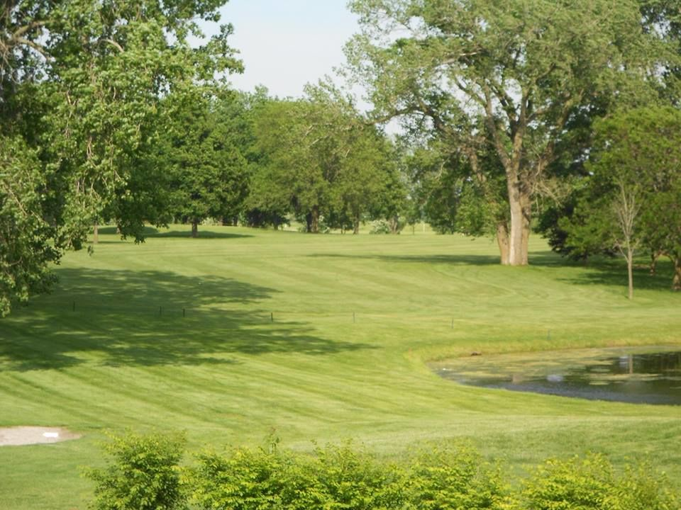 A h blank golf course cover picture
