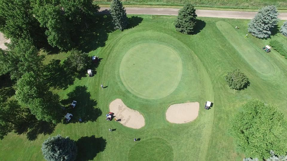 Overview of golf course named Akron Golf Course