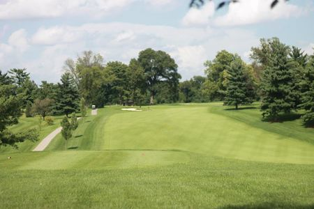 Overview of golf course named Audubon Golf and Country Club