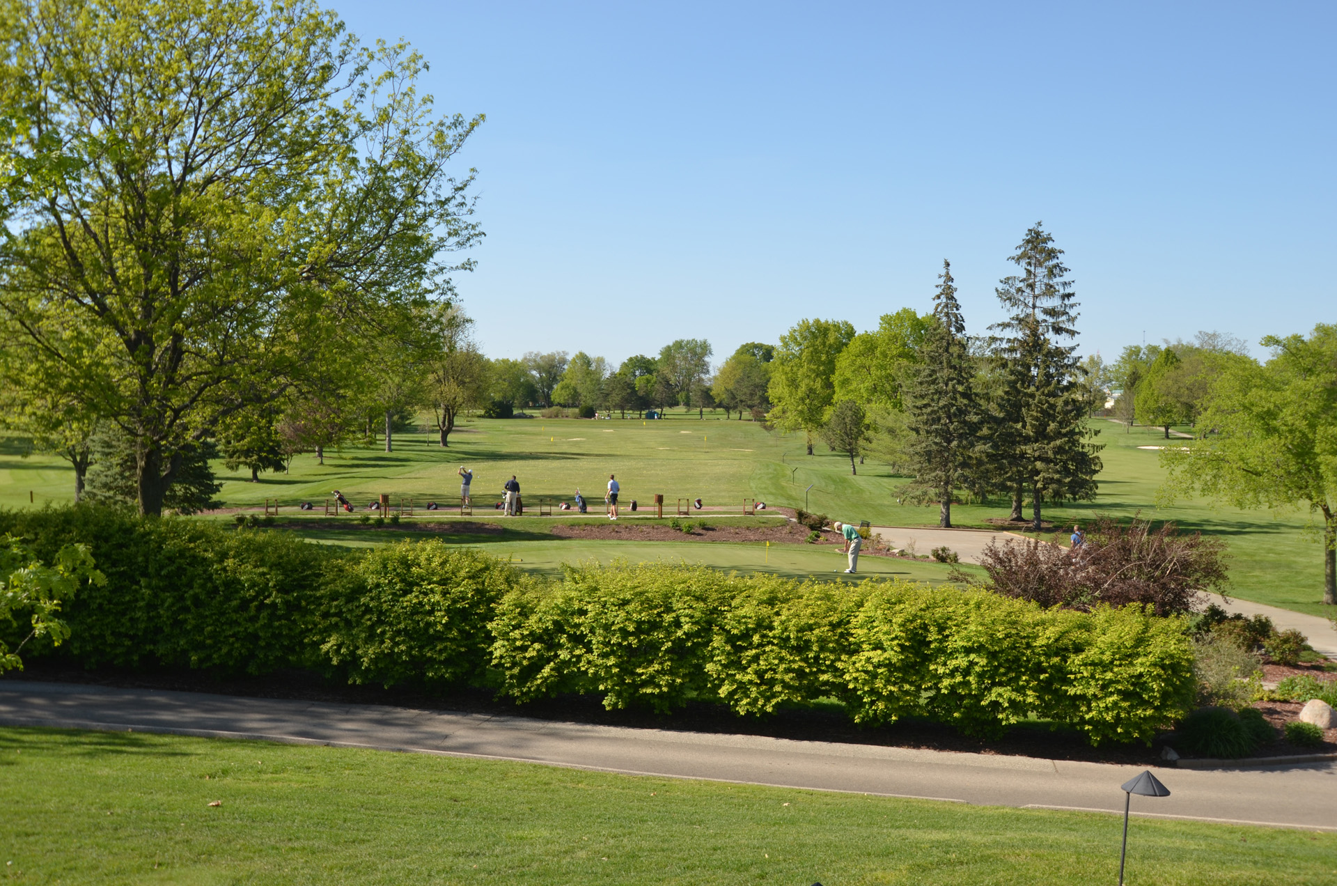 Overview of golf course named Elmcrest Country Club