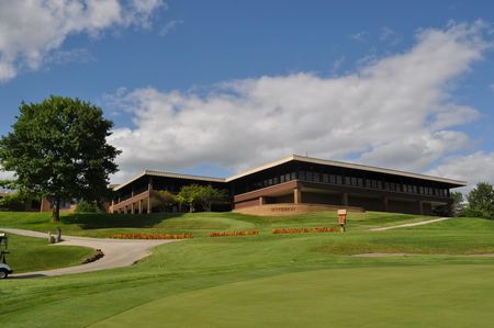 Overview of golf course named Hyperion Field Club