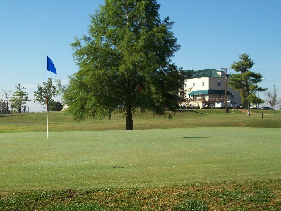 Bluegrass army depot golf course cover picture