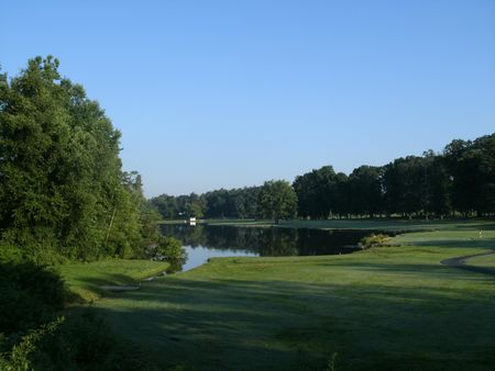 Overview of golf course named South Park Country Club