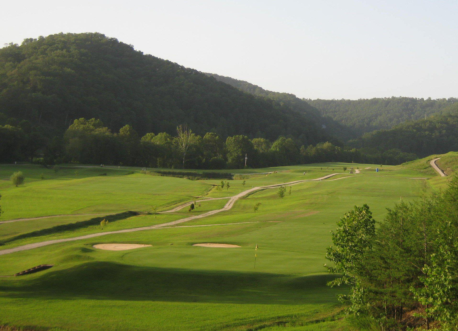 Overview of golf course named Sugar Camp Golf Club