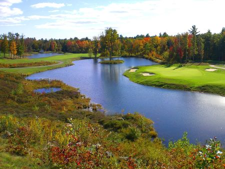 Ledges Golf Club, The Cover Picture