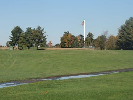 Overview of golf course named Rocky Knoll Country Club