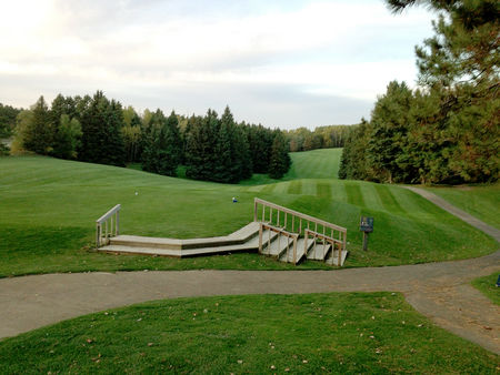 Pine ridge golf course cover picture