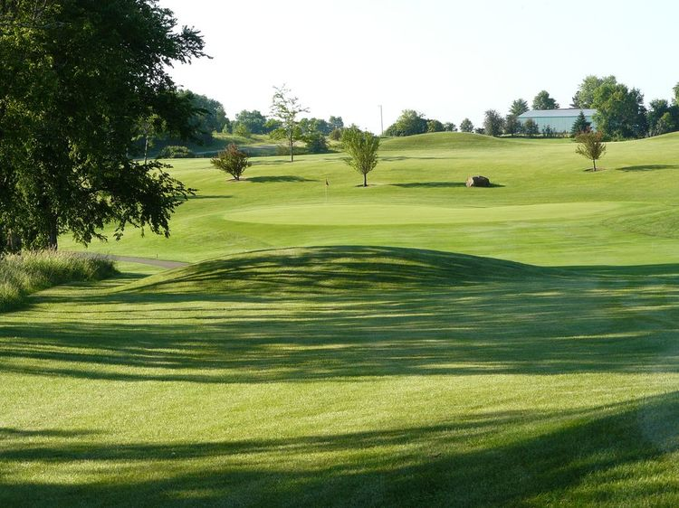 Albion ridges golf course cover picture
