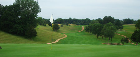 Bluff creek golf course cover picture