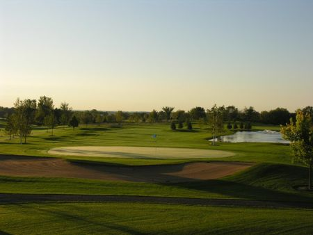Emerald greens golf course cover picture