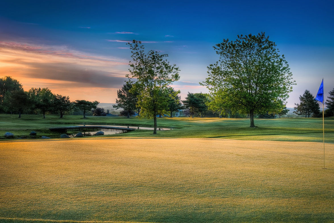 Afton alps golf course cover picture