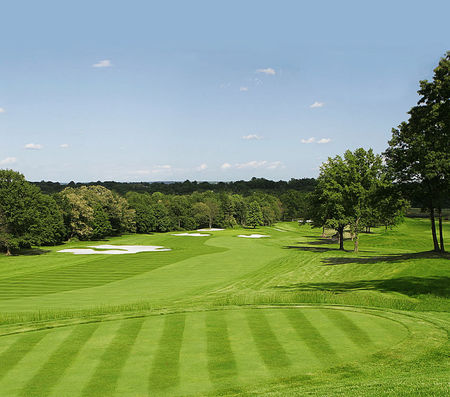 Overview of golf course named Arcola Country Club