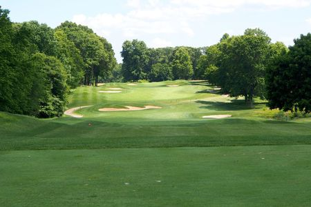 Overview of golf course named Battleground Country Club