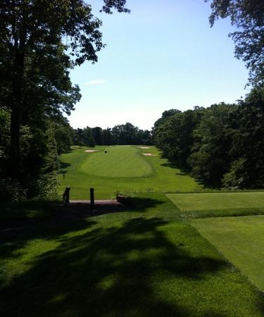Overview of golf course named Hackensack Golf Club