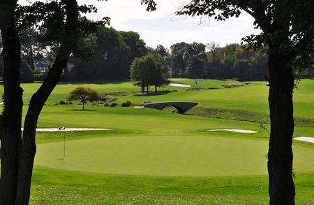 Overview of golf course named Merchantville Country Club