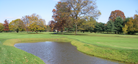 Overview of golf course named Moorestown Field Club
