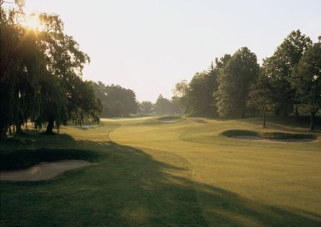 Overview of golf course named River Vale Country Club