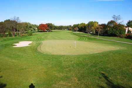 Overview of golf course named Wedgwood Country Club