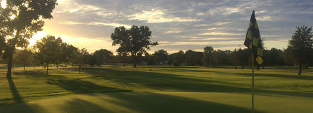 Mandan municipal golf course cover picture