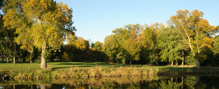 Overview of golf course named Minnehaha Country Club
