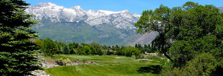 Overview of golf course named Alpine Country Club