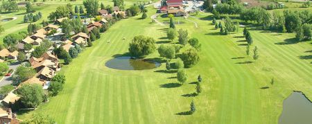 Overview of golf course named Barn Golf Club, The