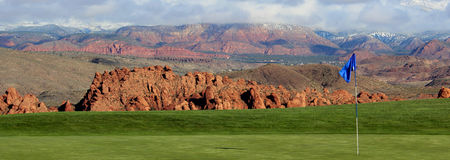 Sky mountain golf course cover picture