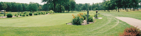 The golf course at branch river cover picture