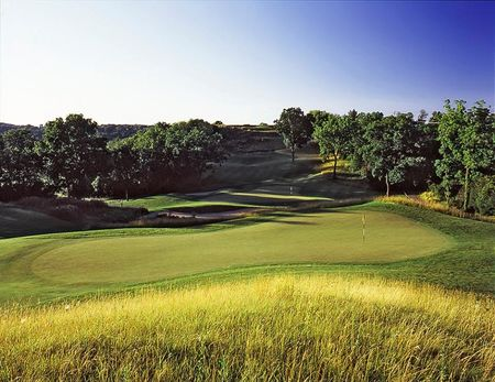 Overview of golf course named Hawk's View Golf Club, Llc