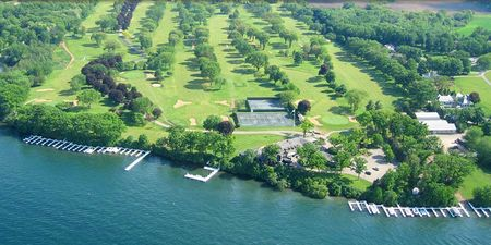 Overview of golf course named Lake Geneva Country Club