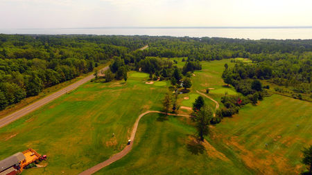 Lake Superior View Golf Course Cover Picture