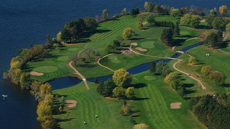 Overview of golf course named Lake Wissota Golf