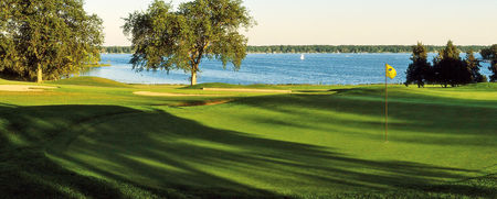 Lake lawn golf course cover picture