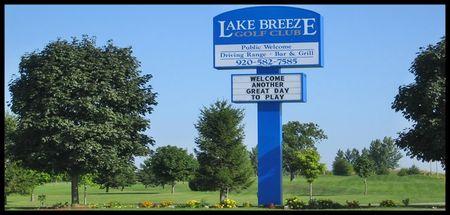 Lake Breeze Golf Club Cover