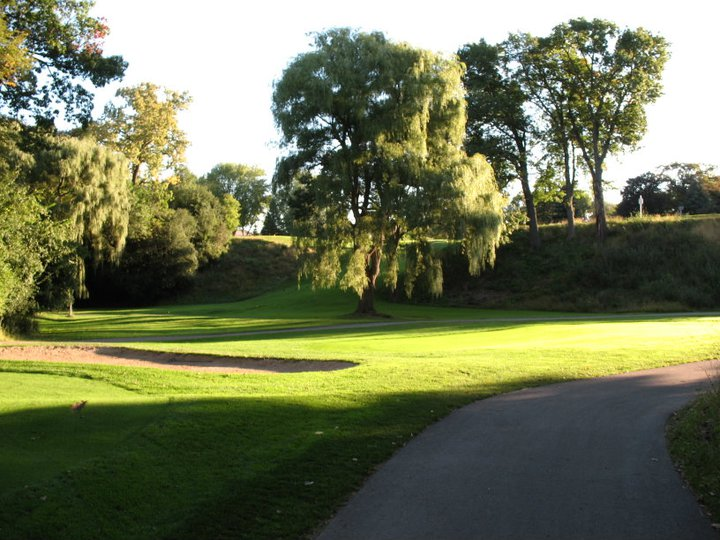 Overview of golf course named Riverview Country Club