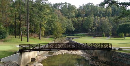Overview of golf course named Mountain Brook Club